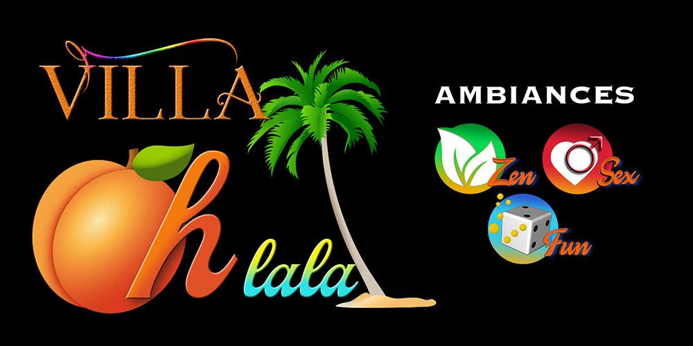 Logo 3 Ambiances Zen Sex & Fun de la Villa Ohlala